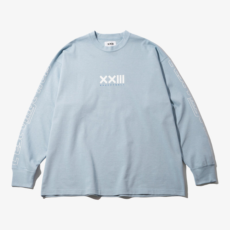 HOOP HEAVY WEIGHT L/S TEE SAX