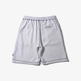 90'S STITCH SWEAT SHORTS ASH GRAY