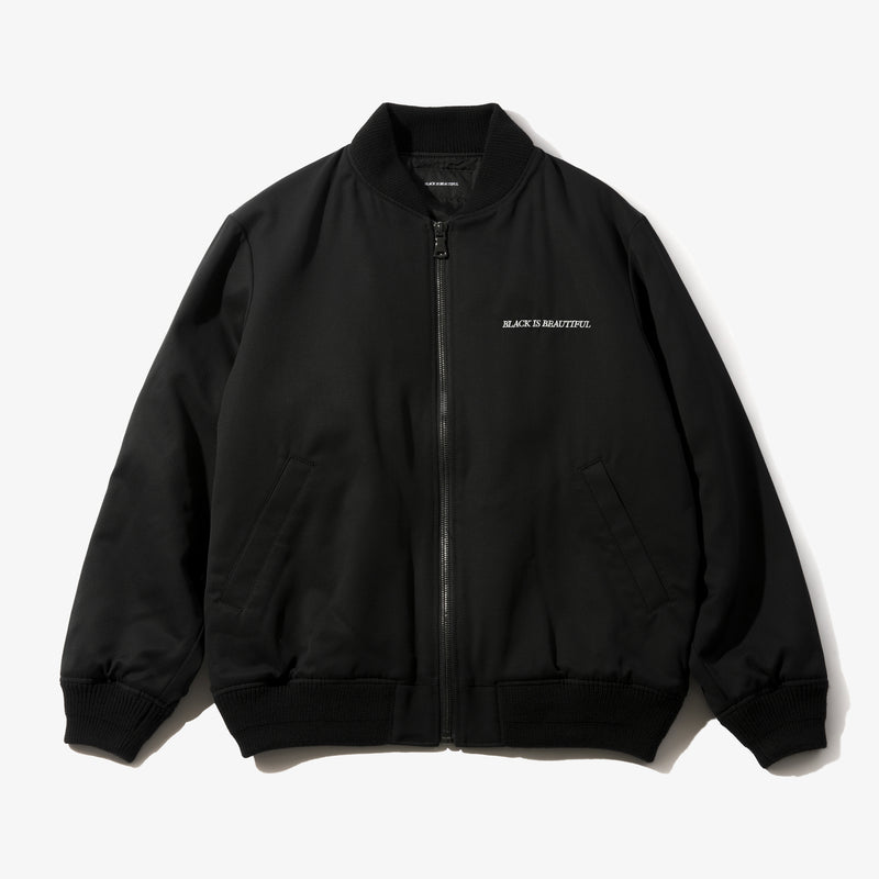 BOX LOGO WOOL JACKET