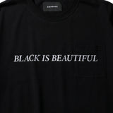 BIB POCKET TEE BLK