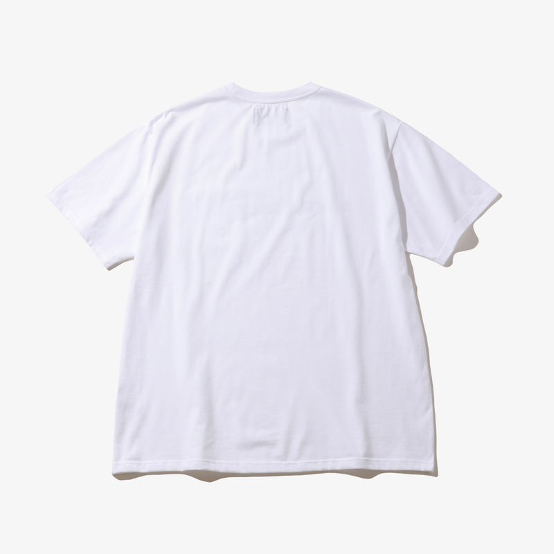BIB POCKET TEE WHT