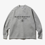 DOUBLE KNIT L/S TEE GREY