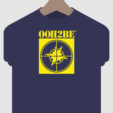 Ooh2Be Block Logo tee