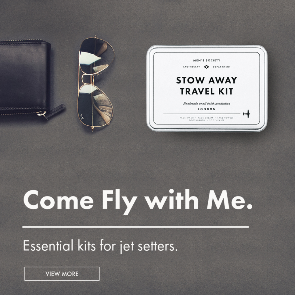 Travel gifts | Men's Sociey