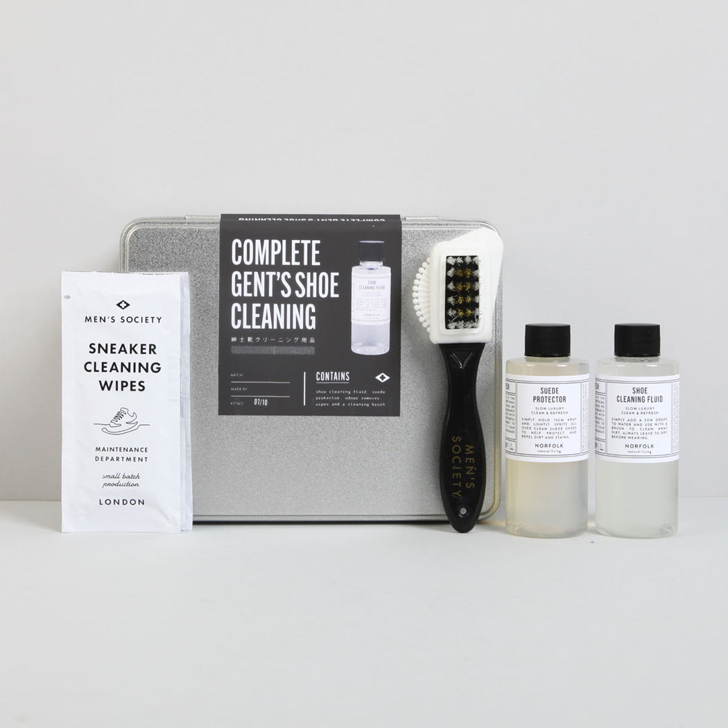 Complete Gent's Shoe cleaning Kit