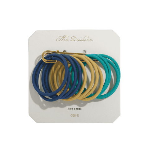 Hair Bands - Navy Variety - Men's Society