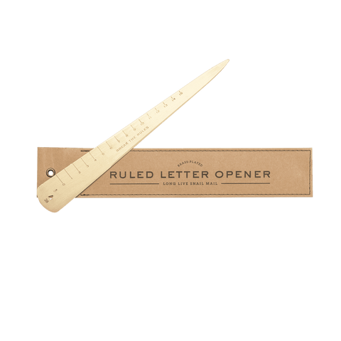 Brass Letter Opener | Men's Accessories | Men's Society