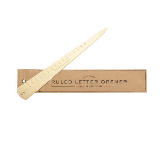 Brass Letter Opener - Men's Society