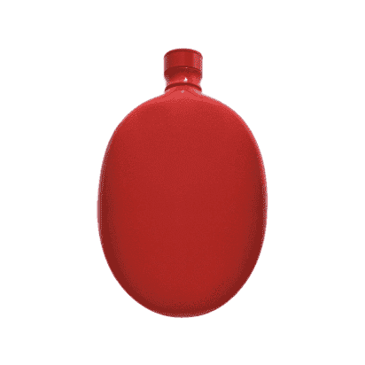 Odeme Hip Flask - Red - Men's Society