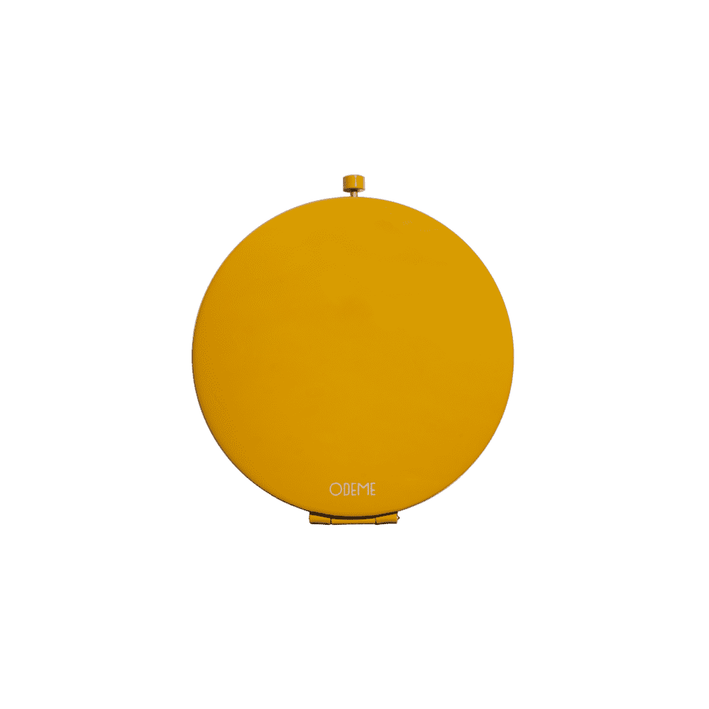 Compact Mirror - Yellow - Men's Society