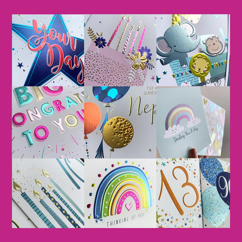 Cold Foil Modern Designs by Windles and Cherry Orchard Publishing