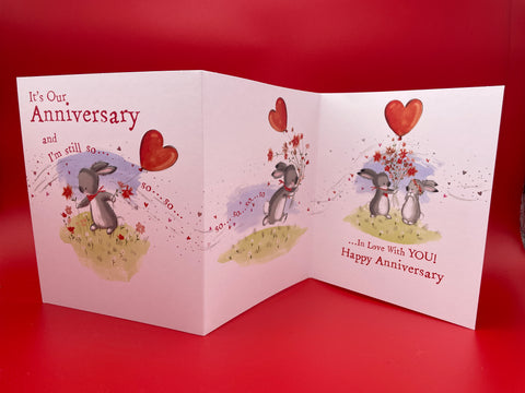 On Your Anniversary Card Cherry Orchard Publishing