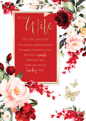Wife sentiments birthday card online