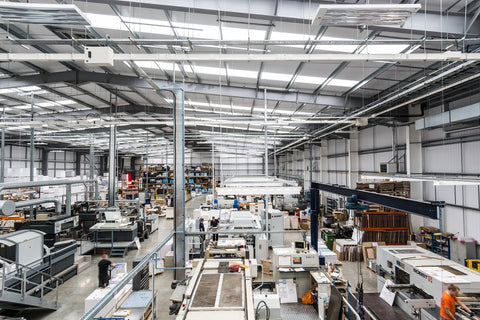 Inside the Factory Windles Printing Group