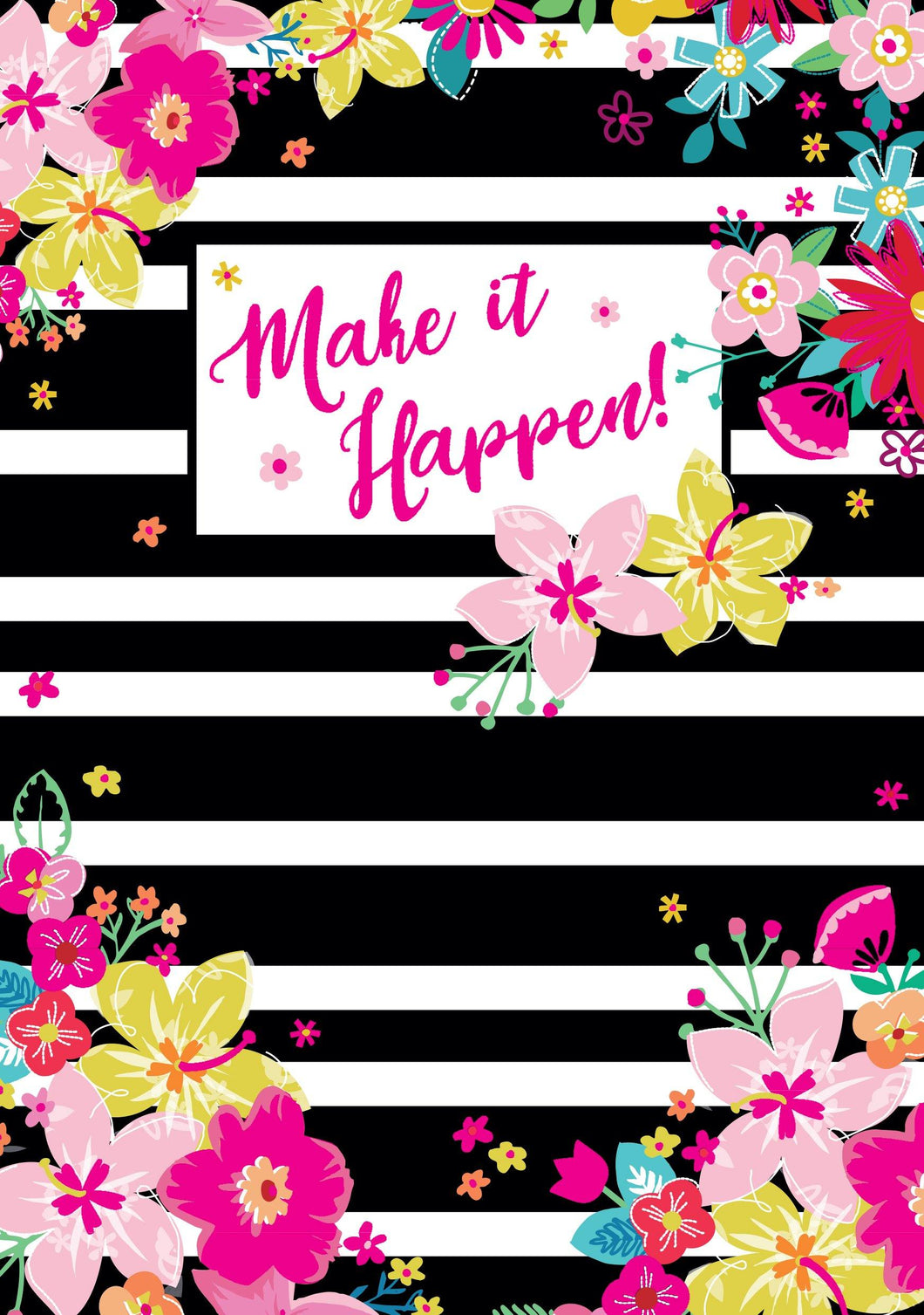 'Make it Happen' Notebook