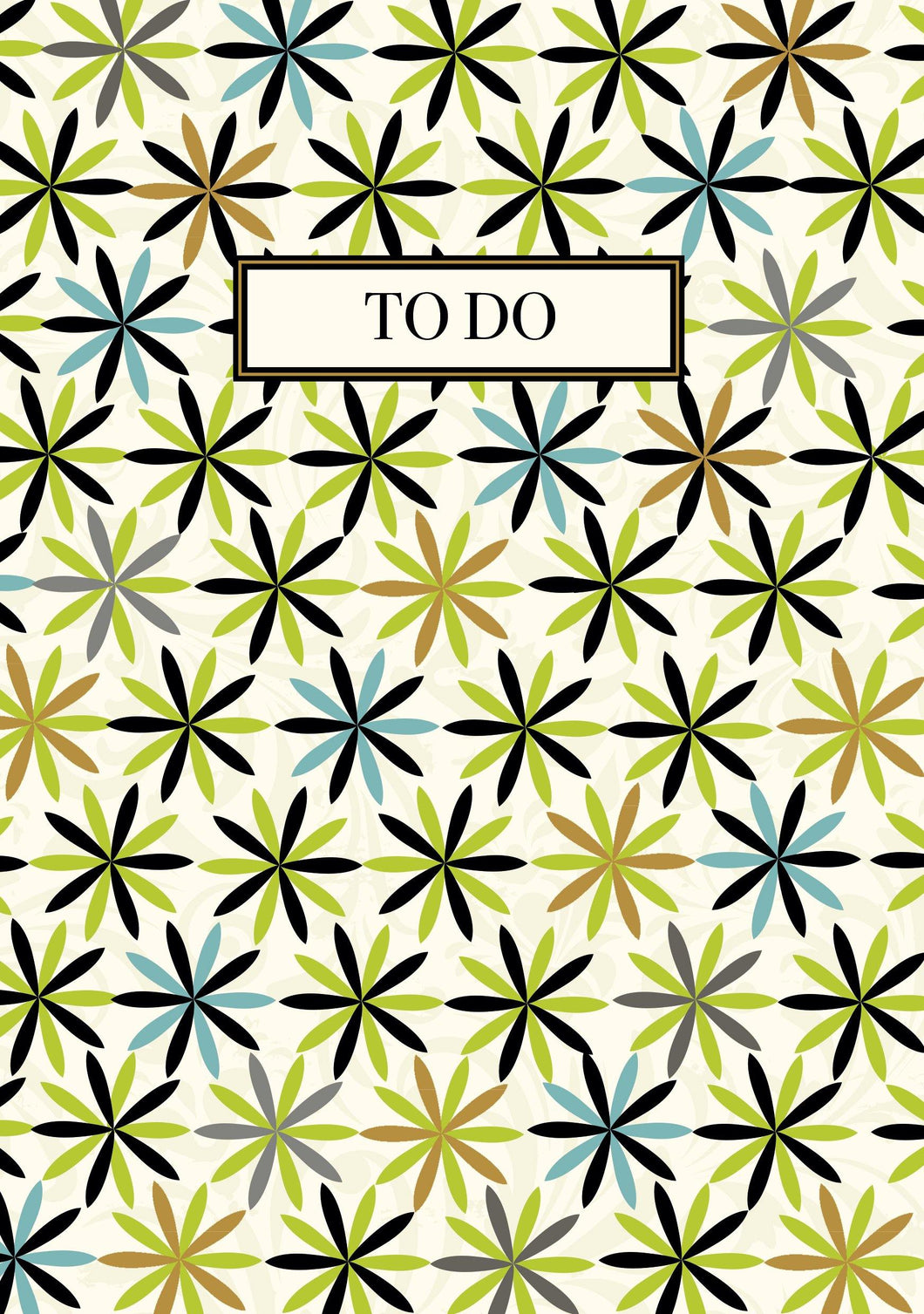 'To Do' Pattern Notebook