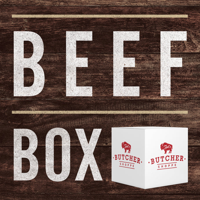 Specialty Beef Steak & Grind Box