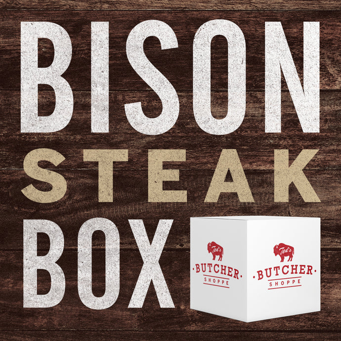 Specialty Bison Steak Box