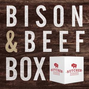 Specialty Bison & Beef Steak & Grind Box