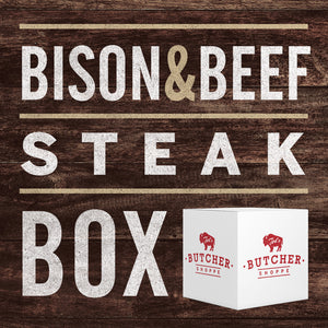 Specialty Bison & Beef Steak Box