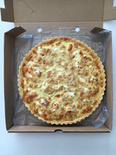 Load image into Gallery viewer, Quiche - Butternut, Danish Feta 680g (Round) Frozen