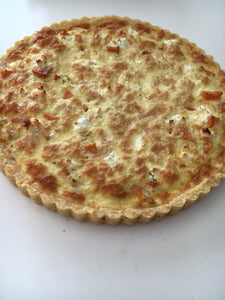 Quiche - Butternut, Danish Feta 680g (Round) Frozen