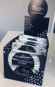 Delights Chocolate Bar - White Chocolate 35g Ambient
