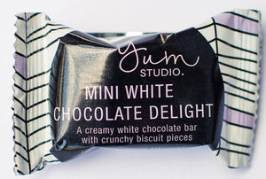 Mini Delights Chocolate Bar - White Chocolate 15g x 20 units Ambient