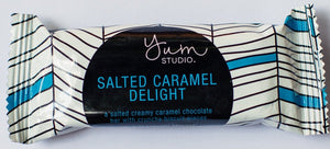 Delights Chocolate Bar - Salted Caramel 35g Ambient