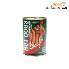 Al Taghziah Beef Hot Dog 380 gm  - Apni Dukaan VIC