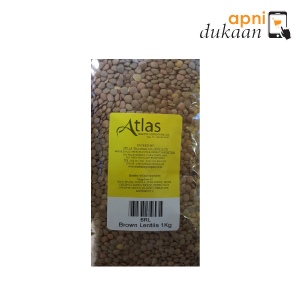 Atlas Brown Lentils 1 kg - Apni Dukaan VIC