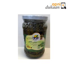 Atlas Pepper Pickle ( Green Chilly) 640n gm