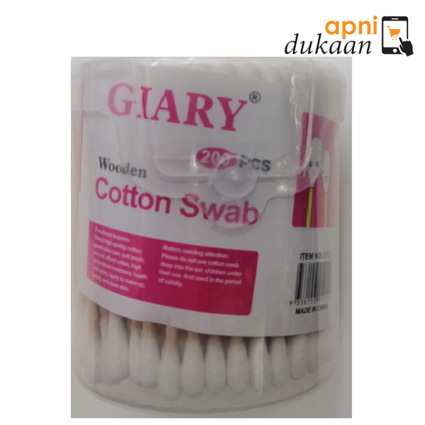 Glary wooden Cotton Swab