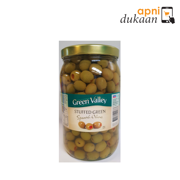 Green Vally Stuffed Green Spanish Olives 2 kg