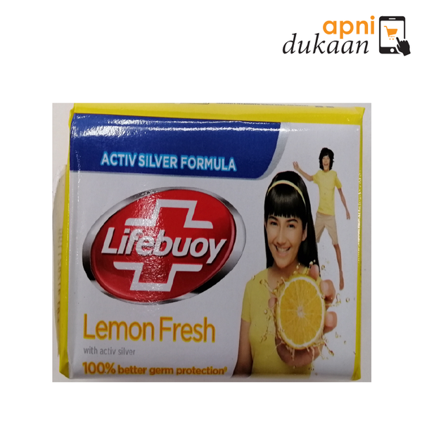 Lifeboy Lemon Fresh Bath Soap 175 gm