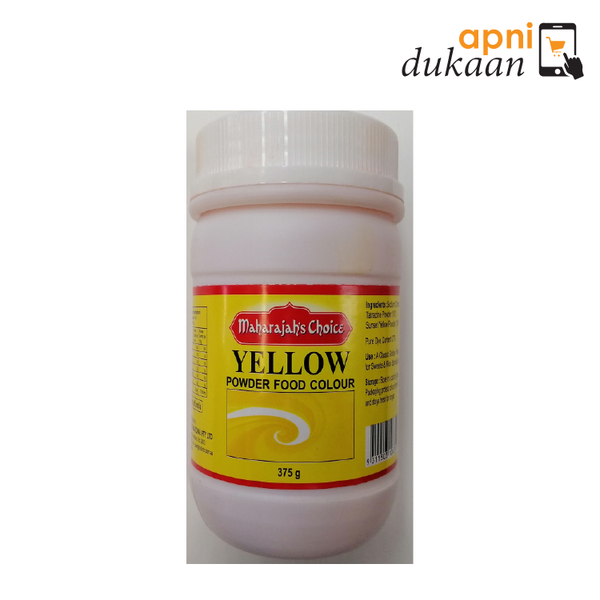 Maharaja Choice Yellow Food Color 375 gm