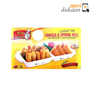 Monsalwa Cocktail Samosa and Vegroll 100 pcs - Apni Dukaan VIC