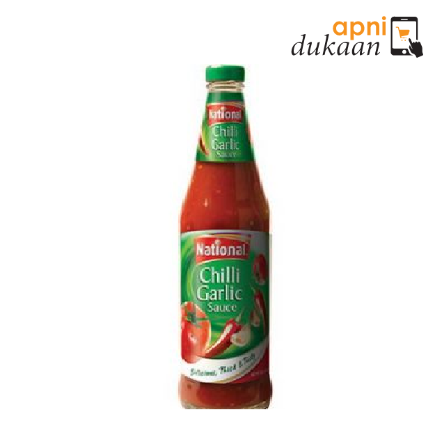 National Chilli Garlic Sauce 300g - Apni Dukaan
