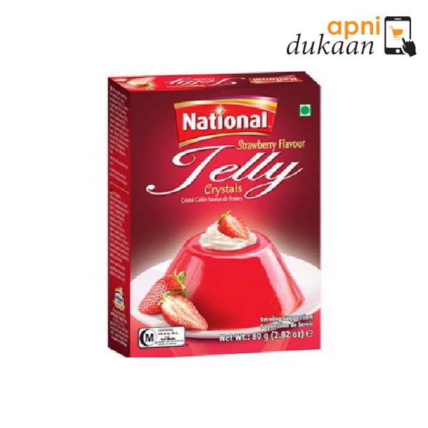 National Jelly Strawberry - Apni Dukaan