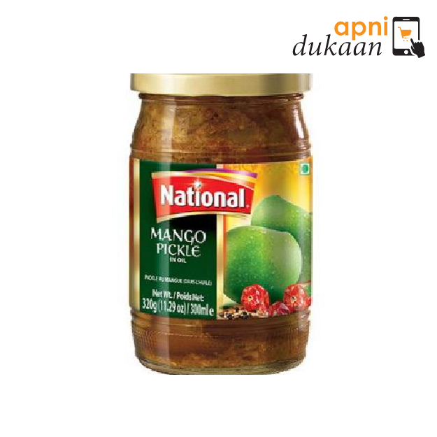 National Mango Pickle 1Kg - Apni Dukaan
