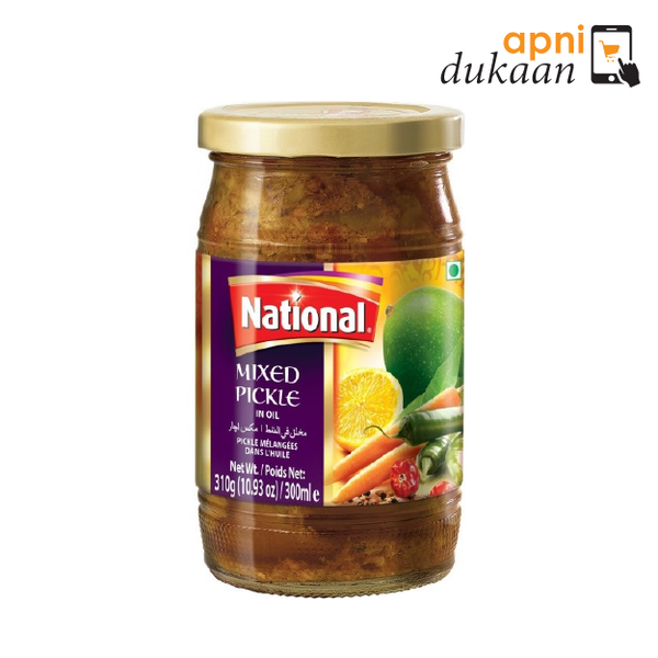 National Mixed Pickle 320g - Apni Dukaan
