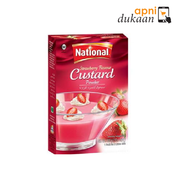 National Strawberry Custard - Apni Dukaan