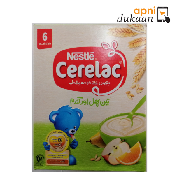 Nestle Three Fruit Cerelac 175 gm