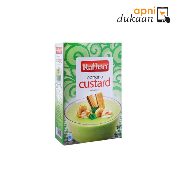 Rafhan Custard Powder - Banana 285g - Apni Dukaan