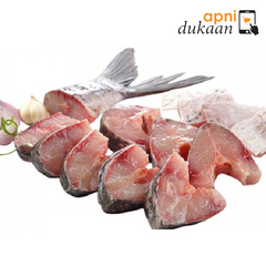 Bangladeshi Rohu Fish (Between 2.5-3 kg) Cut - Apni Dukaan VIC