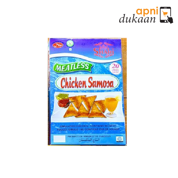 Shahi Meatless Chicken Samosa - 20 Pieces - Apni Dukaan VIC