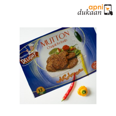 Sheiks Delights Mutton Chapli Kabab 12 Pcs