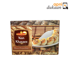 United King Roasted Almond nan Khataee 360 gm