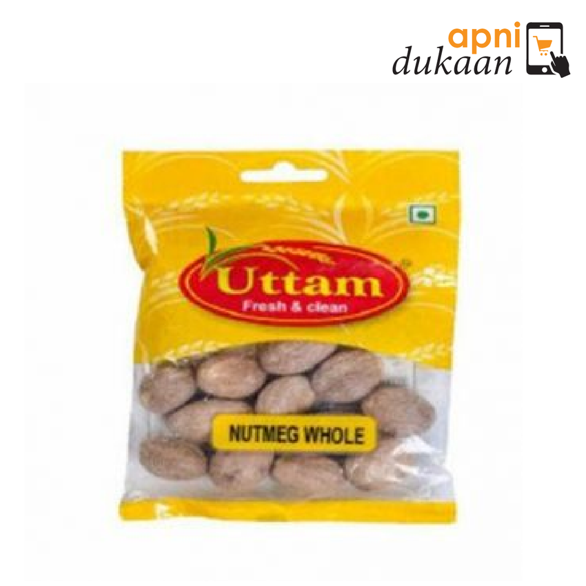 Uttam Nutmeg Whole (Jayphal) 25 gm