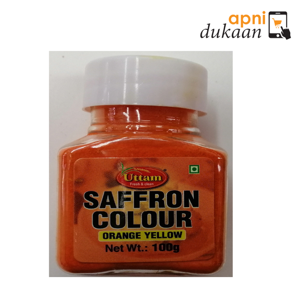 Uttam Orange Saffron Color 100 gm